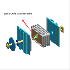 Good Insulation Performance DMC High Voltage Busbar Joint Insulation Plate