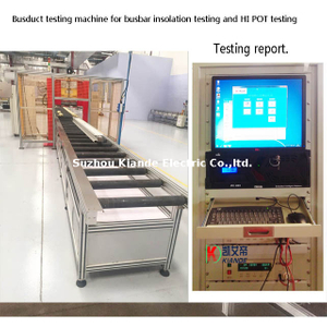 Compact Busbar Automatic Inspection Machine for Insulation Resistance