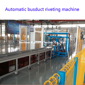 Automatic Busduct Assembly Line for LV Busbar Trunking System Produce