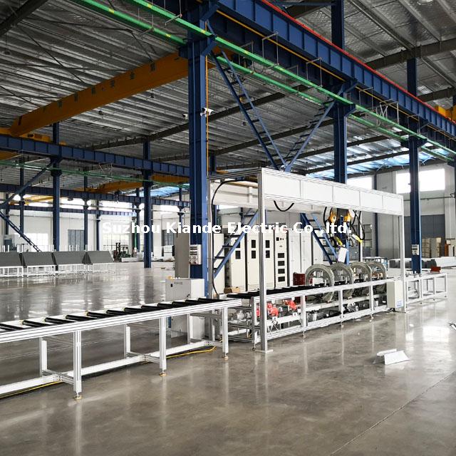 Semi-automatic Busbar Assembly Line for LV Compact Busduct Profile Assembly